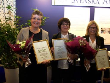 Svensklärarpriset delades ut