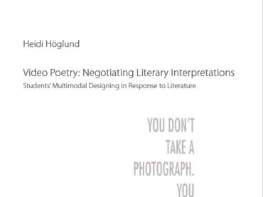 Viktigt bidrag om undervisning i poesi