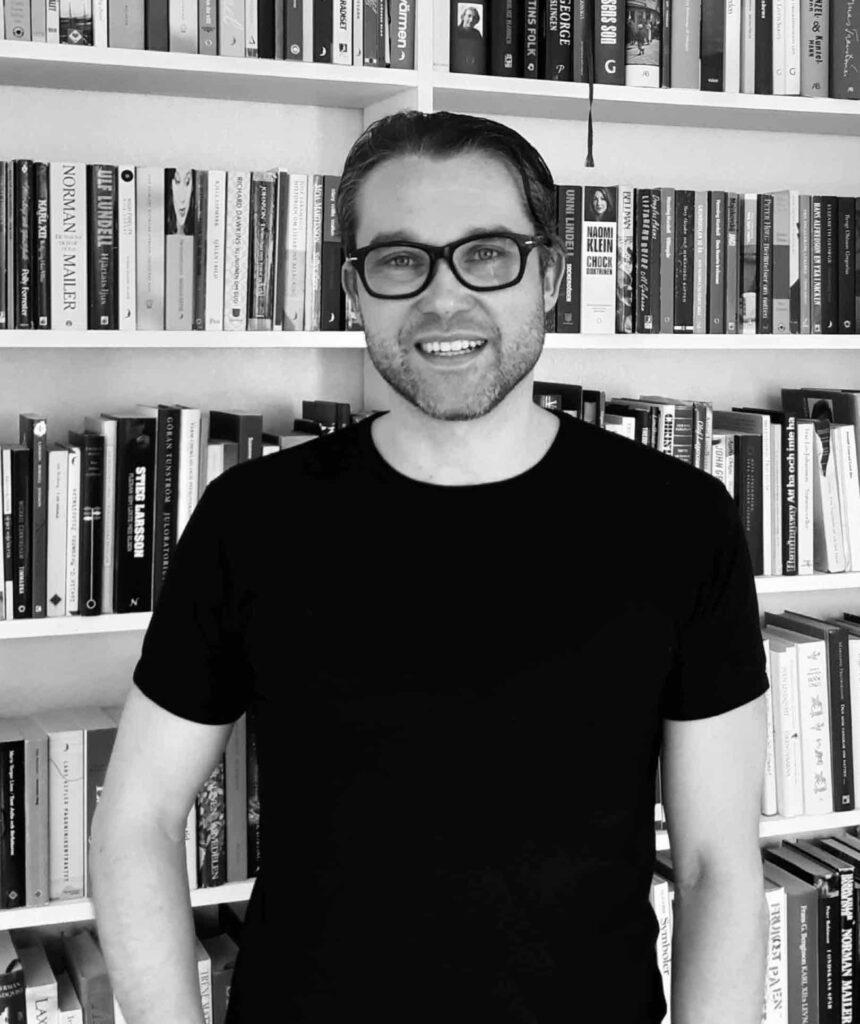 Olle Nordberg, lektor i svenskämnets didaktik, med inriktning litteraturdidaktik, Uppsala Universitet.