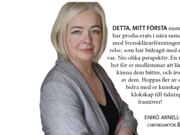 """""""Jag fick det svenska språket av mina svensklärare"""""""